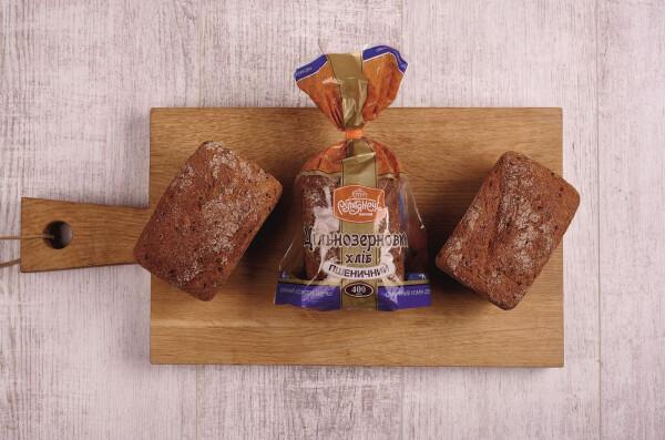 Як ми готуємо тісто для Цільнозернового хліба
