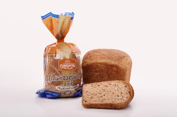 Новинка! Хліб Цільнозерновий пшеничний